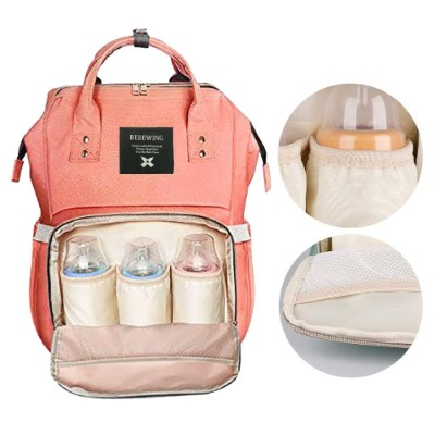 Diaper Bag Backpack, Large Capacity Multi-Function Waterproof Travel Nappy Bags