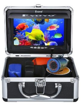 Eyoyo Portable 7 inch LCD Monitor Fish Finder Waterproof Underwater HD