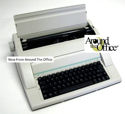 Portable Typewriter by Around The Office