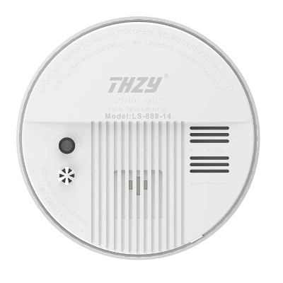Smoke & Carbon Monoxide Alarm, THEZY Battery Operated Carbon Monoxide CO Detector