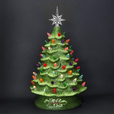 Best Choice Products Prelit Ceramic Tabletop Christmas Tree