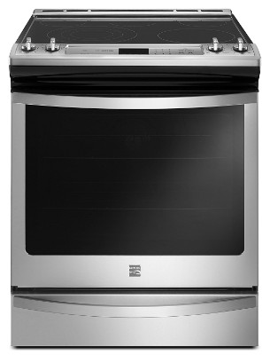 Kenmore 95123 6.4 Cu. ft. Front Control Electric Range in Stainless Steel