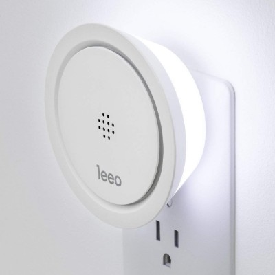 Leeo Smart Alert Smoke/CO Remote Alarm Monitor for iOS and Android