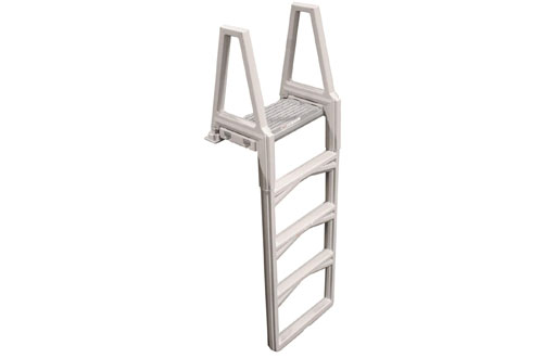 Confer Gray Economy Above Ground In-Pool Ladder