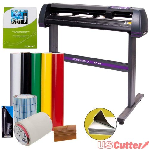 USCutter Vinyl Cutter MH 34in BUNDLE - Sign Making Kit w/Design & Cut Software, Supplies, Tools TOP 10 BEST PLOTTER CUTTERS IN 2020 REVIEWS