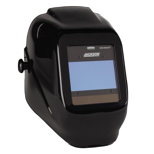 Jackson Safety W40 Insight Variable Auto Darkening Welding Helmet, HaloX, Black (40713), 1 Unit