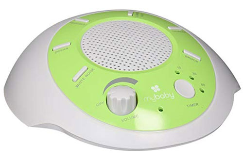 myBaby SoundSpa Portable Machine, Plays 6 Natural Sounds