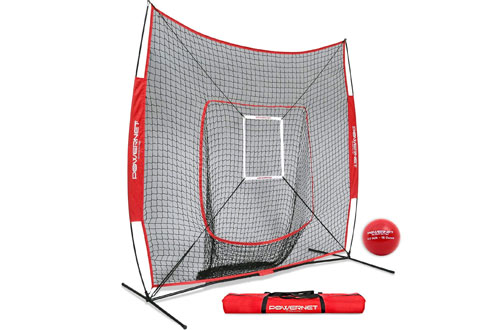 Baseball Softball Hitting Net + Weighted Heavy Ball