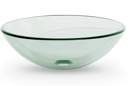 Miligoré Modern Glass Vessel Sink