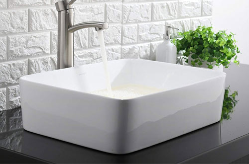 Porcelain Ceramic Bathroom Vessel Sink Art Basin