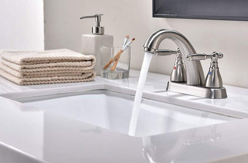 Modern Rectangular Undermount Vanity Sink