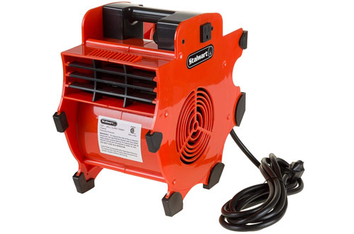 Stalwart Portable Adjustable Industrial Fan Blower