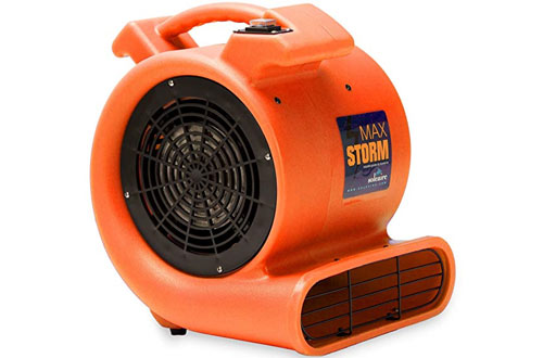 Soleaire Max Storm 1/2 HP Durable Lightweight Air Mover