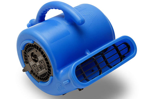 Air Mover for Water Damage Restoration Carpet Dryer