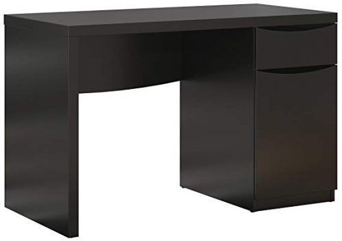 Bush-Furniture-Montrese-Computer-Classic Black Desks