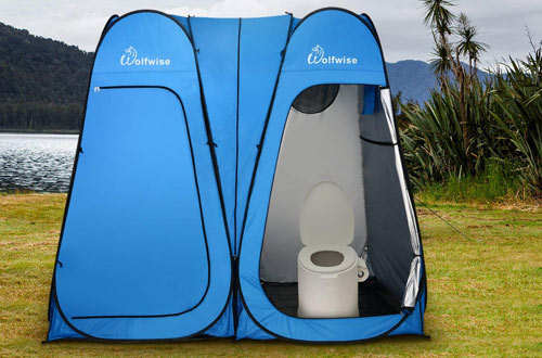 WolfWise Pop Up Utilitent – Privacy Portable Camping