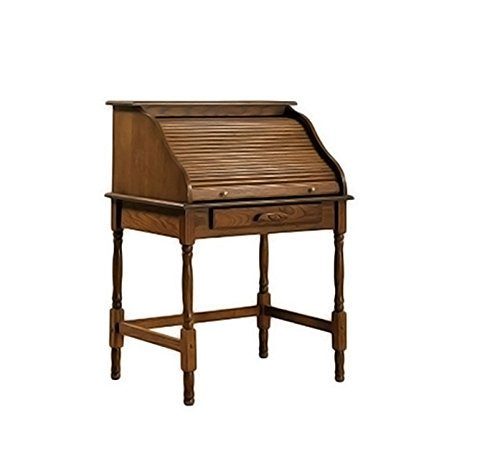 Coaster-Palmetto-Traditional-Honey-Secretary Roll Top Desk