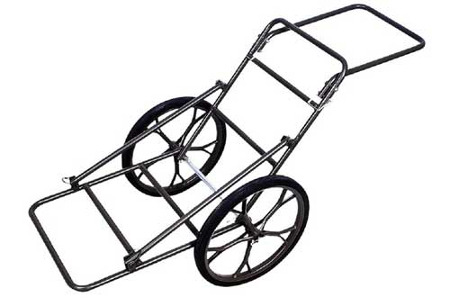 Folding Deer Cart Game Hauler Utility Hunting Accessories Gear Dolly Cart 500Lb