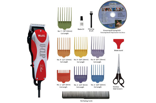 U-Clip Pet Clipper Trimmer Grooming Kit for Dogs