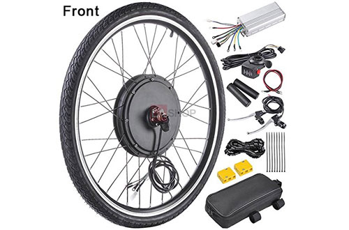 Front Wheel Electric Bicycle Motor Conversion Kit