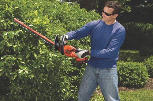 BLACK+DECKER LHT2436 40-Volt High Performance Cordless Hedge Trimmer