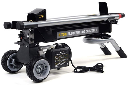 Goplus New 1500W 6 Ton Electric Hydraulic Log Splitter