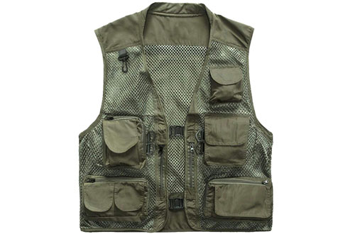 Outdoor Quick-Dry Fishing Vest