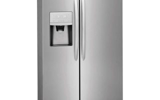 """Frigidaire FGSS2635TF 36"""" Side-by-Side Refrigerators with Water and Ice Dispenser"""