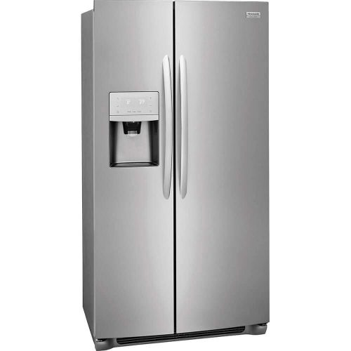 "Frigidaire FGSS2635TF 36"" Side-by-Side Refrigerators with Water and Ice Dispenser"