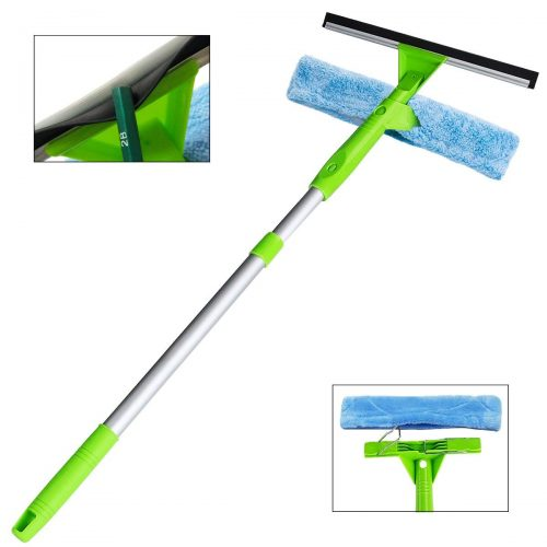 ITTAHO 3-in-1 Professional Window Squeegee Cleaners and Scrubbers