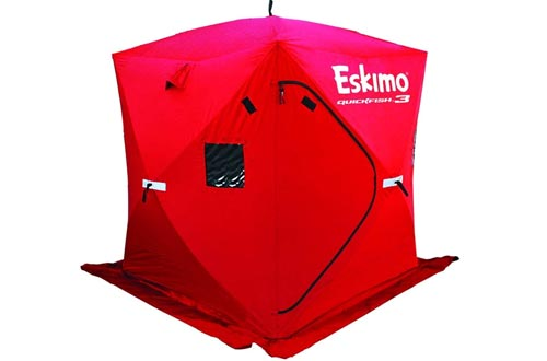 Eskimo Quickfish 3 Pop-up Portable Ice Shelter