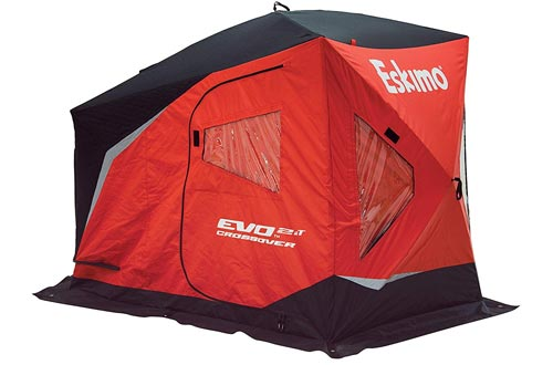 Eskimo EVO IT Portable Flip Style Insulated Ice Fishing Shelters