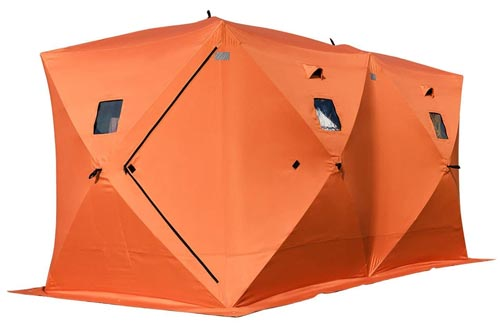 TANGKULA Pop-up Ice Shelter 8-Person