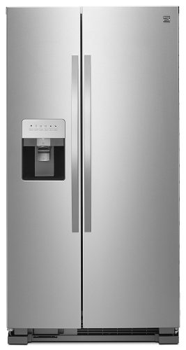Kenmore Side-by-Side Refrigerators with External Water and Ice Dispenser