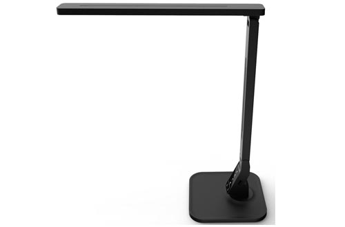 Lampat LED Desk Lamp, Dimmable LED Table Lamp Black