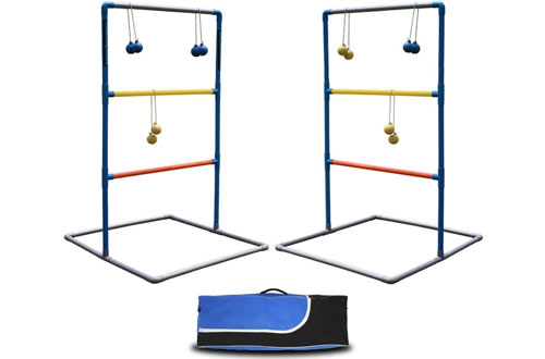 Maggift Ladder Toss Game Set Ladderball Game Set for Indoor or Outdoor