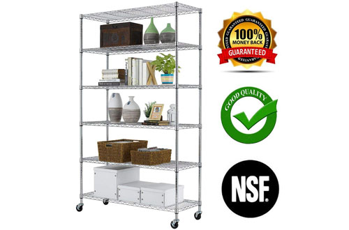 Commercial Adjustable Steel shelving systems
