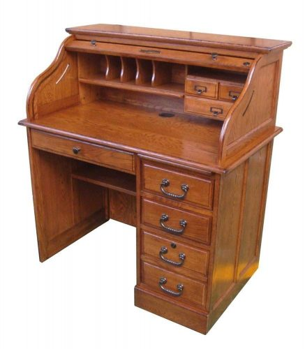Chelsea Home Moon Student Roll Top Desk