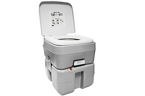 Earthtec ETEC Non-Stick Sanitary Portable Toilet Bow