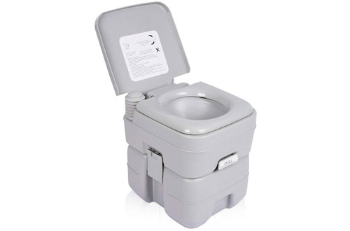 Travel Camp Toilet for RV Car, Boat, Caravan, Campsite, Hospital