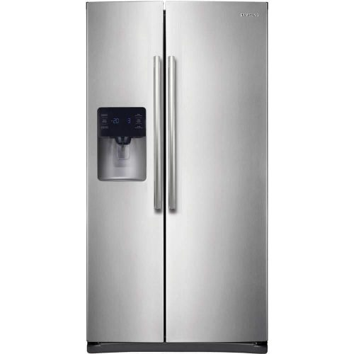 Samsung RS25H5111SR Energy Star 24.5 Cu. Ft. Side-by-Side Refrigerator/Freezer