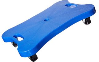 Champion Sports Contoured Plastic Scooter Board