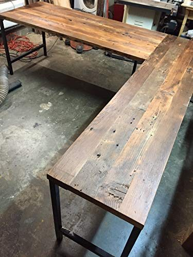 Shaped-Desk-Reclaimed-Wood-Metal