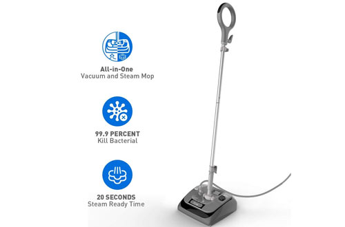 Steam Mop - ALL IN ONE Steam Mop & Vacuum for Hard Floor Cleaning