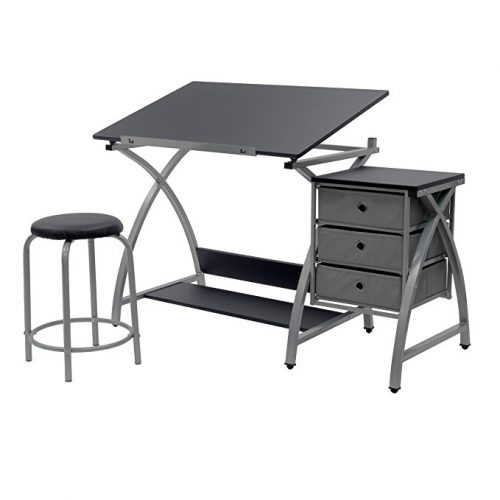 Studio-Designs-Center-Silver-13325 Art Desks