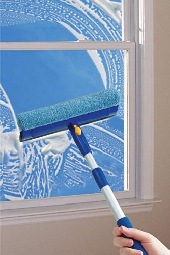 Superio Silicone Squeegee Window Cleaner, Silicone Squeegee Window Washer