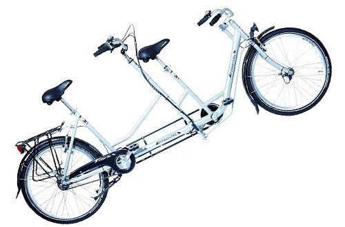 PFIFF Compagno 26-inch Tandem Bicycle