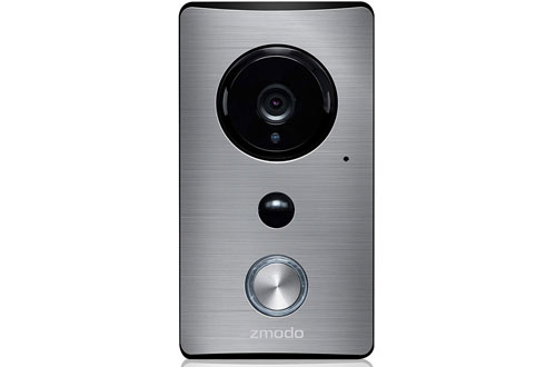 Zmodo Smart Greet Wi-Fi Video Doorbell Cloud Service Available existing doorb