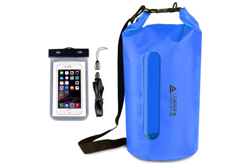 Leader Accessories Heavy Duty Vinyl Waterproof Dry Bag