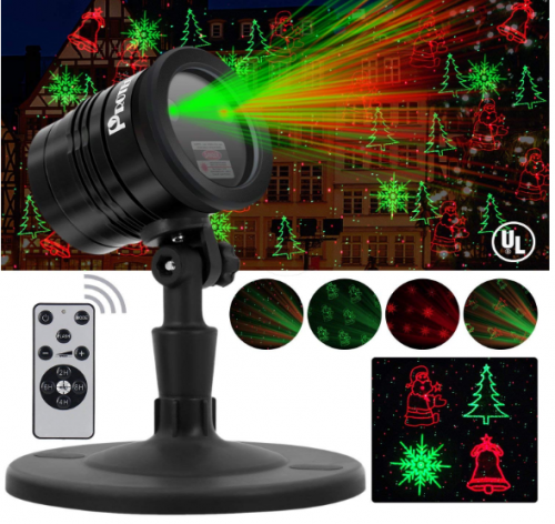 Proteove Christmas Laser Lights Projector